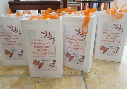 Thanksgiving packages