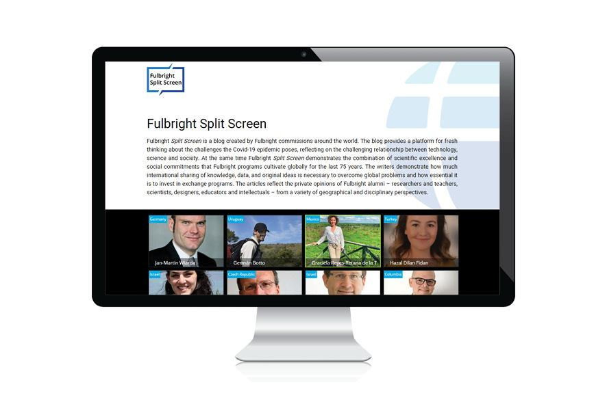 Fulbright Split Screen