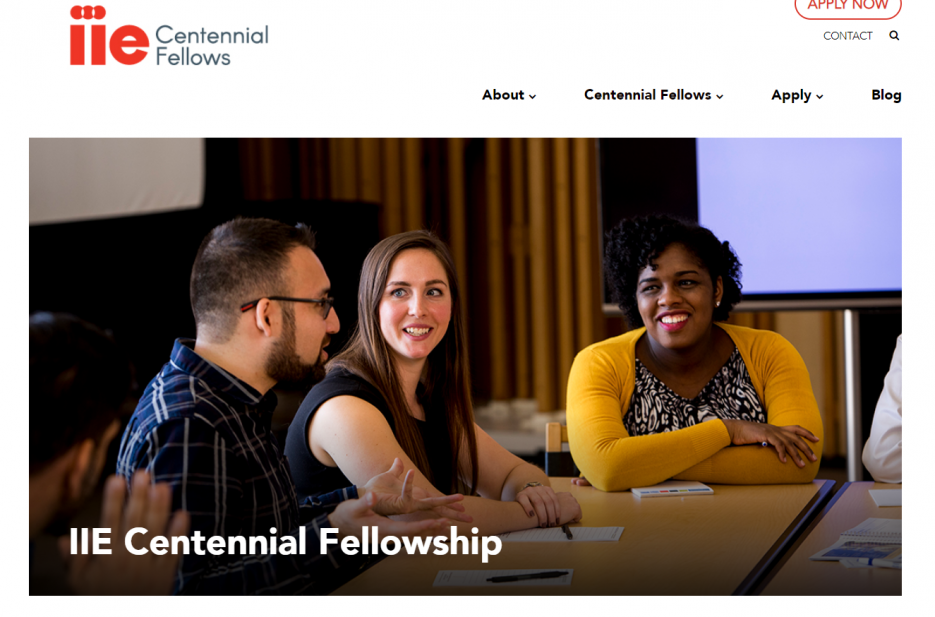 IIE Centennial Fellowships